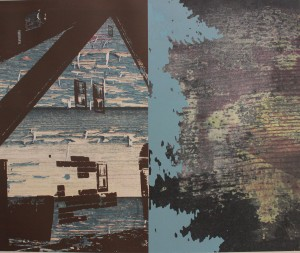 Landscape 16, screen print, 2013