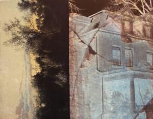 """Landscape 18, lithograph, 13.5"""" x 10.5"""", 2015"""